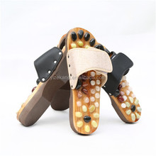 natural stone Massage slipper,acupuncture foot massage shoes