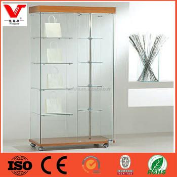 Direct Factory Selling Glass Display Showcaseglass Cabinetglass