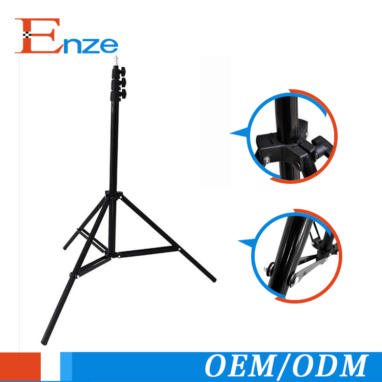 Photo studio 7 ft heavy duty light stand tripod for photography light kit floor lamp camera tripod