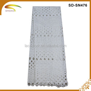 SD- SN00476 Wholesale Swiss White Bridal Tulle Lace Purfle/Material For Wedding