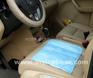 For Summer Using Cool Feeling Car Back Support Auto Mesh Seat Back self-cooling Cushion