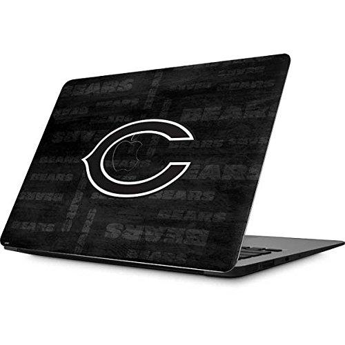 NFL Chicago Bears MacBook Air 13.3 (2010/2013) Skin - Chicago Bears Black & White Vinyl Decal Skin For Your MacBook Air 13.3 (2010/2013)