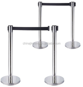 Metal Crowd Control Bolt And Nuts Bollard Low Price Barrier, Metal Car Park Crash Barrier, Queuing Stand Barrier for Sale