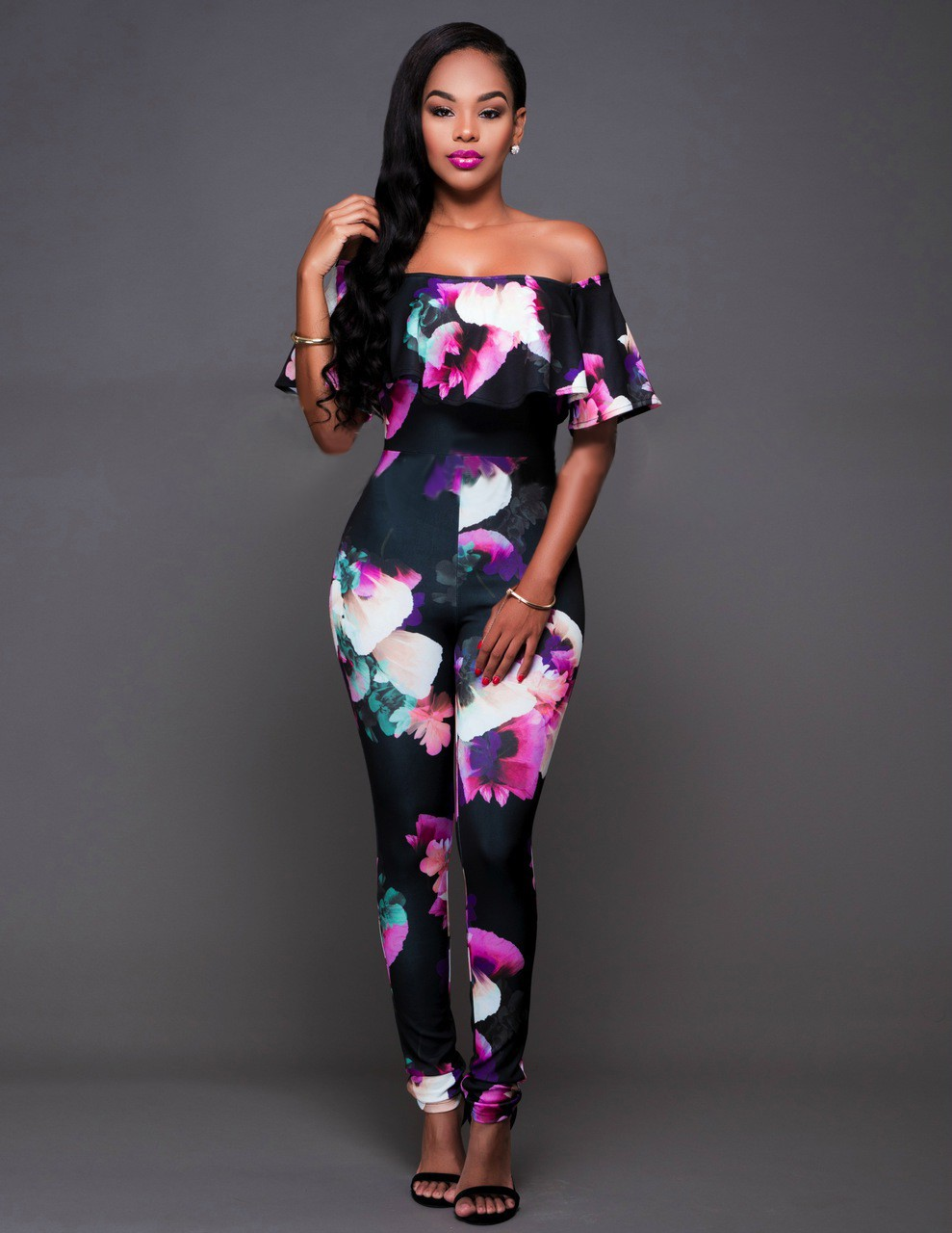 Laest Designer Beautiful Girls Women Club Evening Wear Sexy Jumpsuits For Women Sk8052 - Buy ...