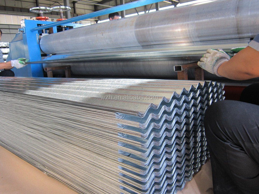 gigl roofing sheet in india 22 gauge galvanized sheet metal 4x8 roof