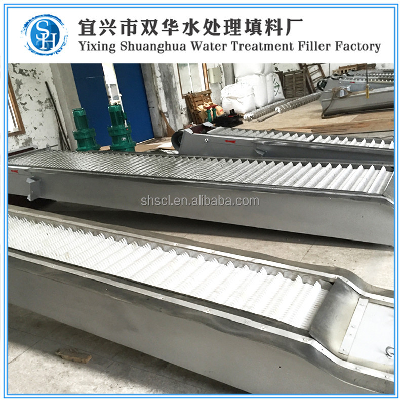 SH 2016 mechanical bar screenwaste water