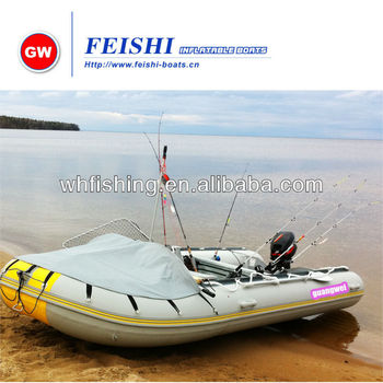 Popular bow canopy 2014 yellow grey Chinese OEM Inflatable PVC Boat for Fishing  sc 1 st  Alibaba & Popular Bow Canopy 2014 Yellow Grey Chinese Oem Inflatable Pvc ...