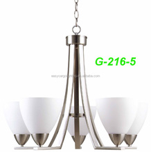 2017 top selling Interior lighting hotel projects living room home chandelier(G216-5p & G216-3p)