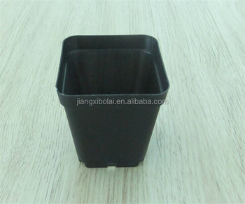 Best Selling Black Square Plastic Small Flower Ceramic Flower Pots Wholesale Buy Best Selling Black Square Plastic Small Flower Ceramic Flower