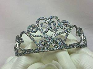 60 Year Birthday Princess Tiara Crown Party Princess Metal Silver Tiara