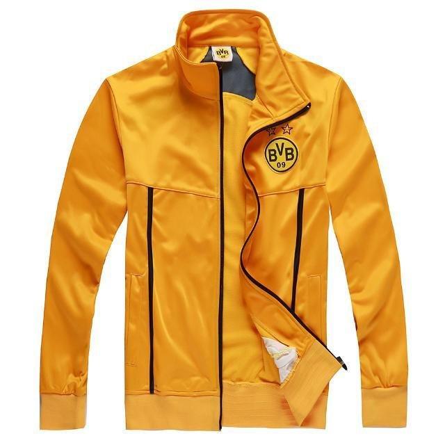 229f5bf15397 Get Quotations · 2015 Borussia Dortmund Soccer Sweater 14 15 Borussia  Dortmund football Sweatshirts Jackets Dortmund BVB Training jackets