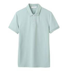 Factory Cotton / Ployester Universe Polo T-shirt