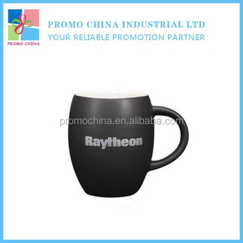 Hot Selling Matte Finished Barrel Shape Ceramic Beer Mug Custom Printed Beer Mug