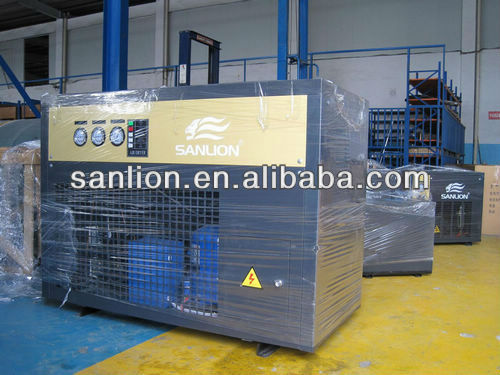 2016 R407C or 404a refrigerated air dryer for air compressor with high performance