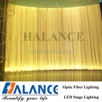 Gradually Change Color Optical Fiber Curtain Wall Light For The