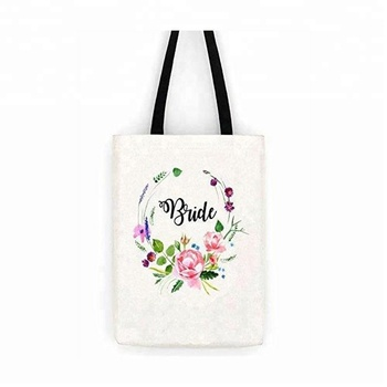 Ginzeal 2019 Fashion Custom Print Cotton Tote Bag