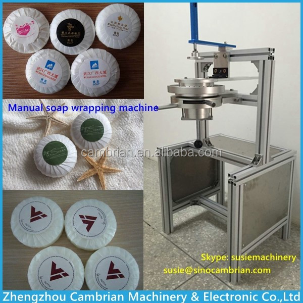 manual soap pleat wrapping machine (9)