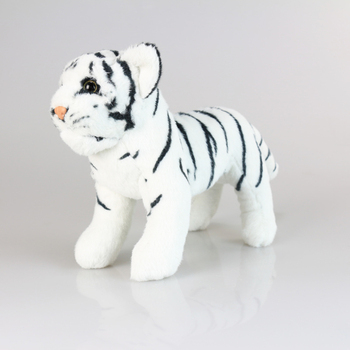 Very cute and pretty plush toy tiger white tiger