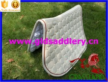Wonderful cooling and moisture wicking fabric saddle pad for horse