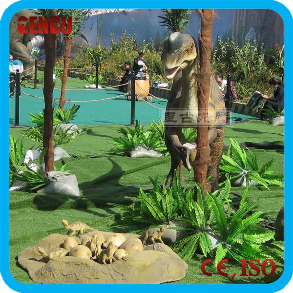 dinosaurios animatronic nios juegos infantiles al aire libre