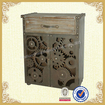 New Design Shabby Chic Rustic Metal Cabinet Home Furniture - Buy Rustic  Metal Cabinet,Rustic Metal Cabinet Furniture,Metal Cabinet Home Furniture  ...