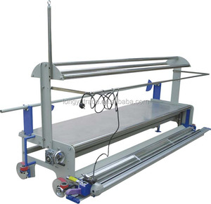 JN-129S-EC Knit, Woven Fabric Spreading Machine (With Fabric Cutting Function)