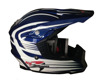 Blue Color Best Sales Motorcross Helmet Open Face Helmet ECE Approved Helmet