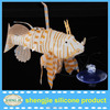 2014 colorful eco wholesale decoration aquarium plastic fish