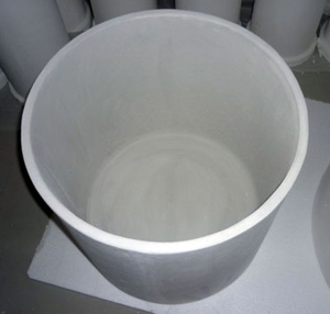 industrial wear-resistance quartz ceramic crucible