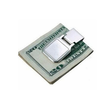 Business Metal Money Clip with customized logo