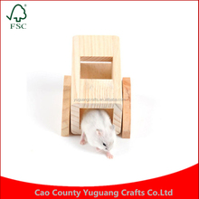 Customize Cute Rat House Hamster Toy Pet Wooden Supplies