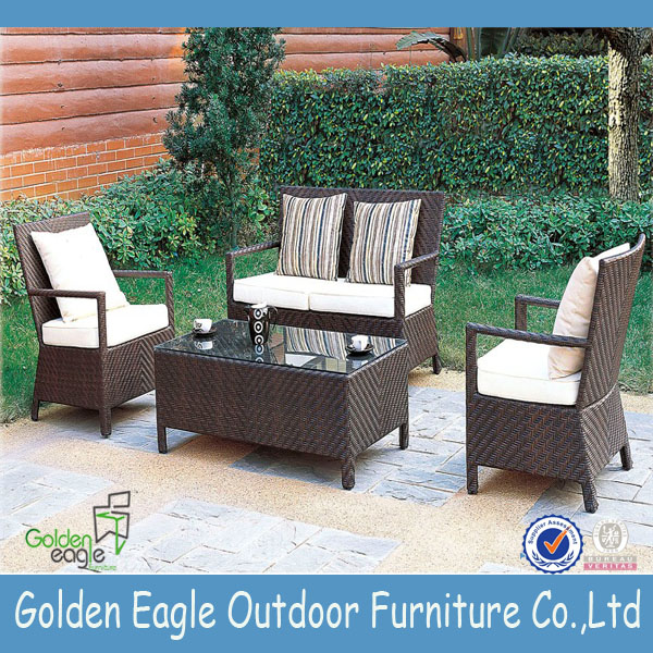 Wicker rattan coffee shop tables and chairs outdoor patio furniture rattan bar furniture