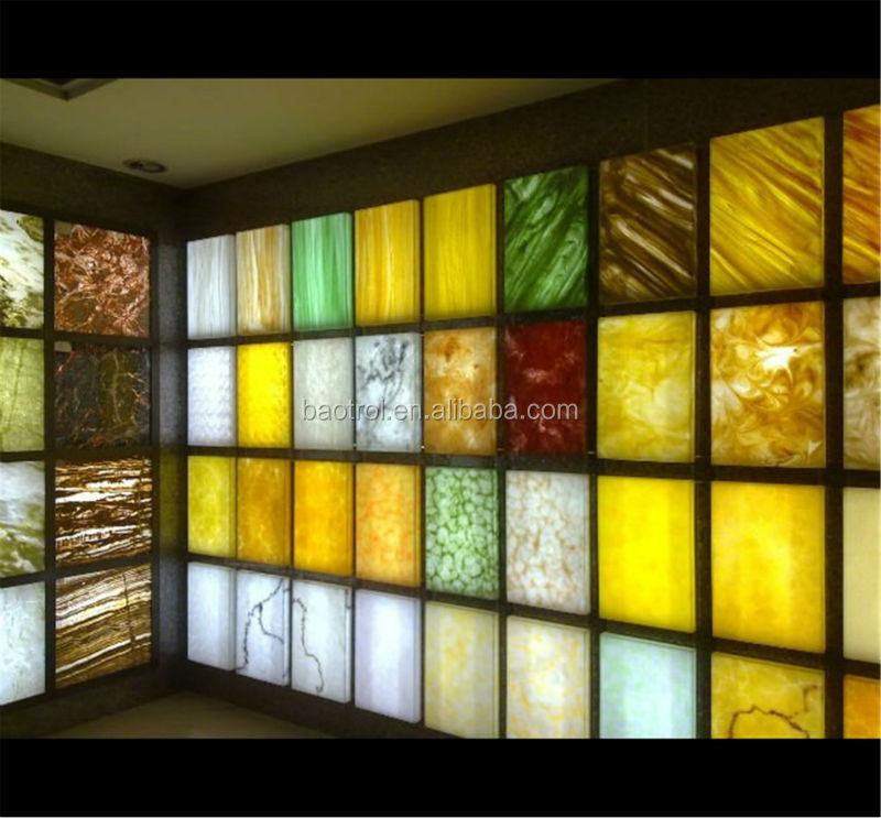 ecol gico m rmol transl cido techo panel transl cido panel