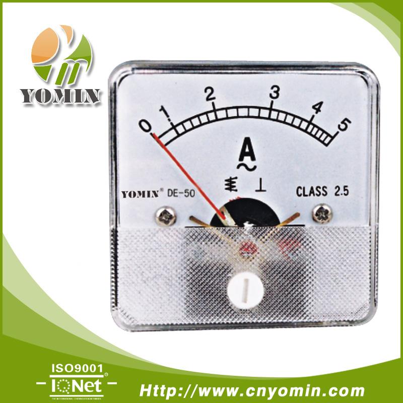 Manufacturer Dt-da50 Direct Input Ac Ammeter,Analog Panel Meter 50 ...