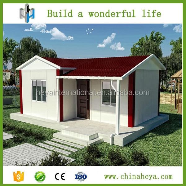 F cil de instalar la casa prefabricada kit para el trabajo for Kit casas prefabricadas