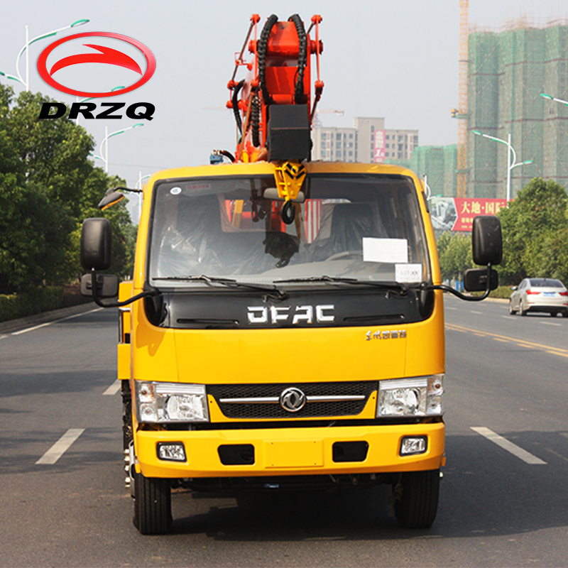 Install Street Lamps High Altitude 14 M Foton High-Altitude Operation Truck