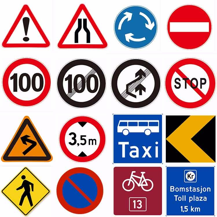 Logo Printed High Frequency Traffic Safety Signs And Symbols Buy