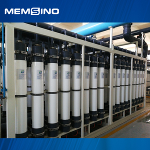 Domestic sewage water treatment system with UF membrane