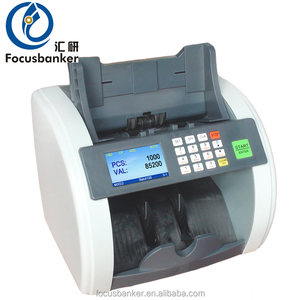 Desktop Type Accurate Processing Mix Denomination Scanning Banknote Discriminator Bill Counter Currency Counting Machine
