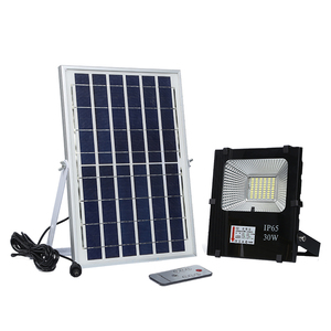 Hot sale Bridgelux waterproof ip65 outdoor smd 10w 20w 30w 50w 100w solar led flood light price