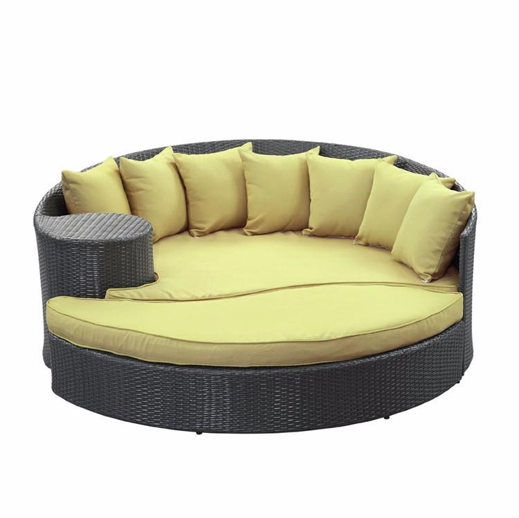 rat n sof cama con dosel barato al aire libre redondo On sofá al aire libre barato