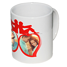 3D Ceramic Travel Cute Couple Water Tea Heat Sensitive Promotion Sublimation Mugs 11Oz
