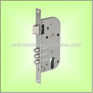40mm Black Paint Mortise Door Lock Body