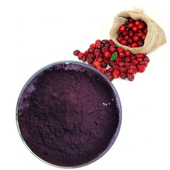 First grade antocyanin powder  from canberry fruit for anti oxidiant