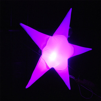 party, wedding,hotel decoration inflatable lighting star for promotion, outdoor use holiday decoration