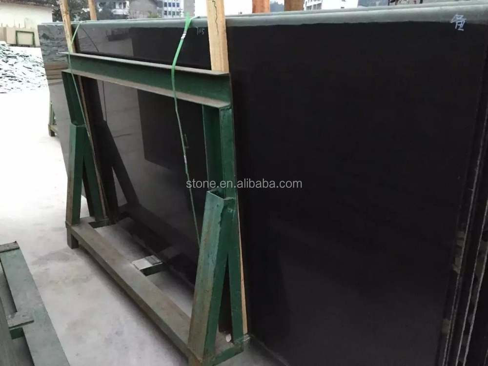 Black Crystallized Glass Panel Black Nano Crystallized Glass Stone Black Nanoglass