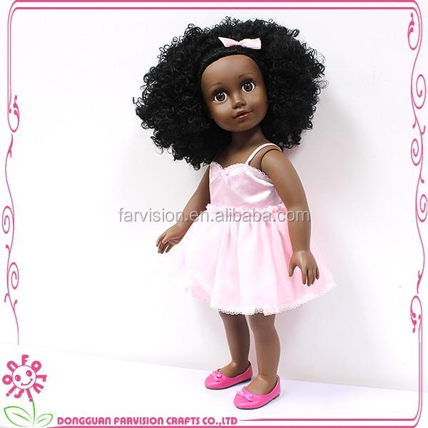 China factory cheap custom vinyl 18 inch lovely girl dolls for kids