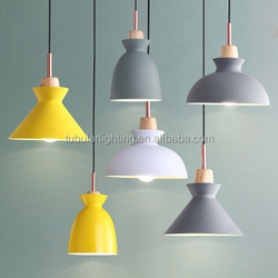 office Kitchen lighting Colorful loft decorative Mini contemporary pendant lights