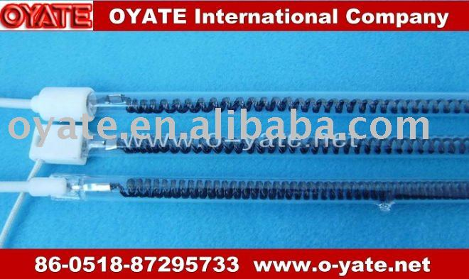 carbon fiber heater pipe for microwave oven