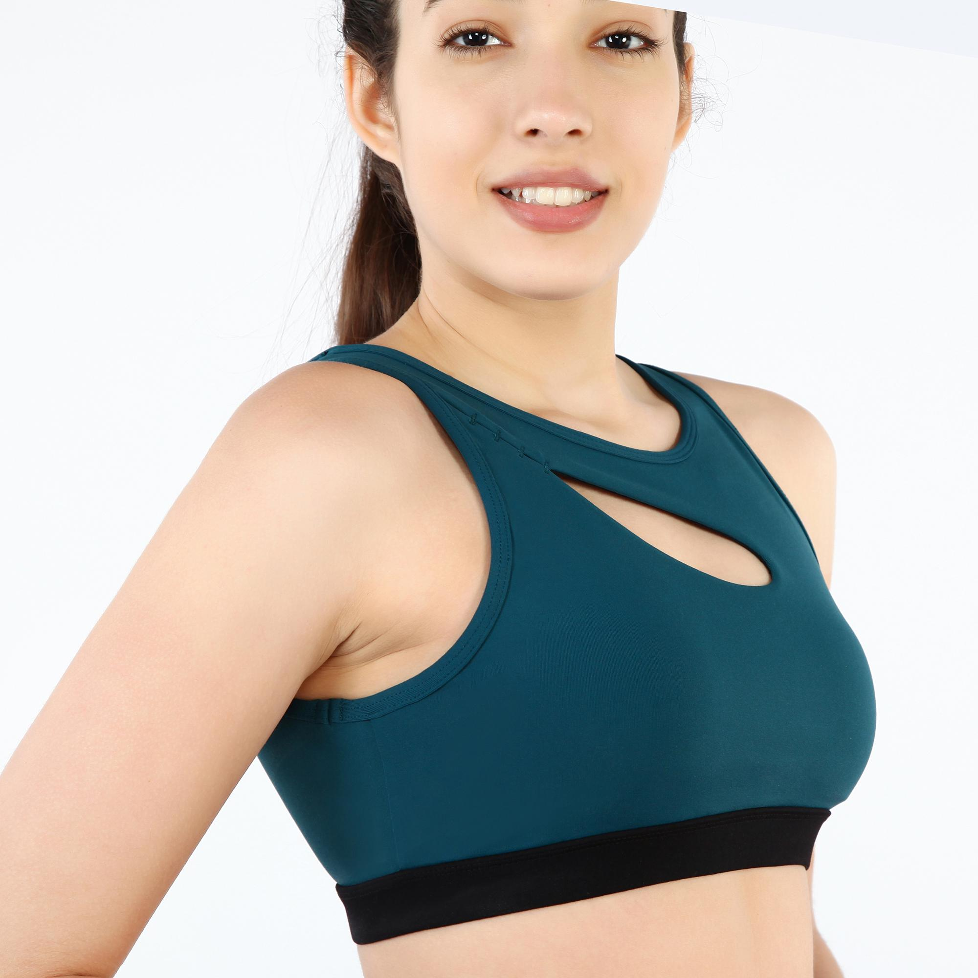 Womens Profession Performance Fitted Yoga Running Shockproof Sports Bra
